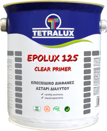 EPOLUX 125 clear epoxy primer