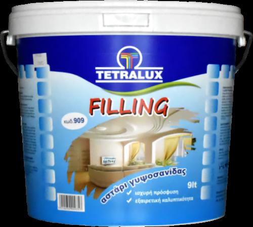 FILLING plaster board primer