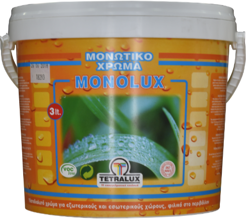 MONOLUX elastomeric wall paint