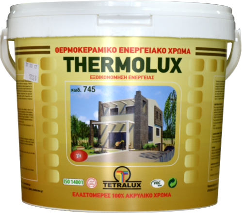 THERMOLUX EXTERIOR energy saving wall paint