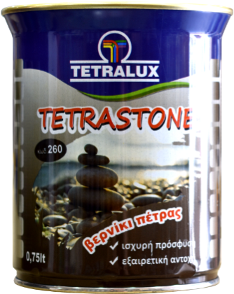 TETRASTONE solvent based stone varnish