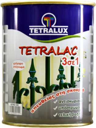 3 in 1 TETRALAC direct to metal enamel