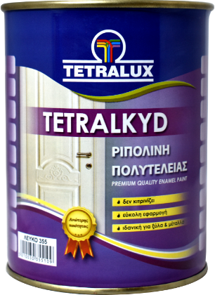 TETRALKYD high quality solvent based enamel