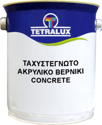 CONCRETE acrylic resin stone varnish