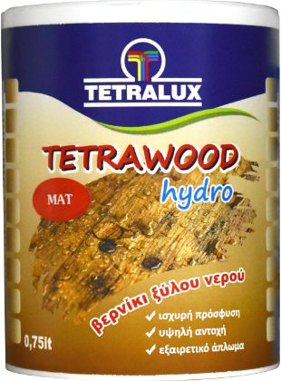 TETRAWOOD water based varnish