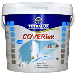 Coverlux, titanium containing anti-mold water paint