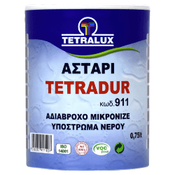 Tetradur ecological water based primer